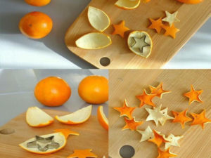 orange peel christmas decorations