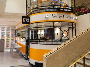 Veuve Clicquot Selfridges bar