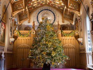 windsor castle christmas decorations