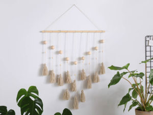 Here's How to Create Your Own Boho Tassel Wall Hanging
