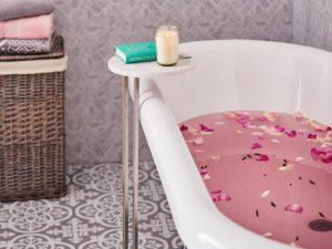 dunelm bathroom side table