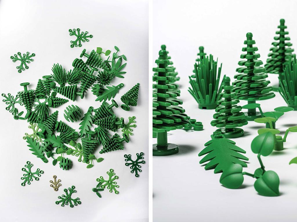 lego plant based bricks