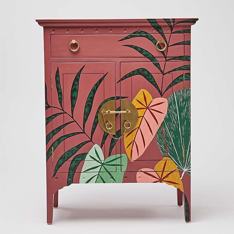 oliver bonas iro handpainted furniture