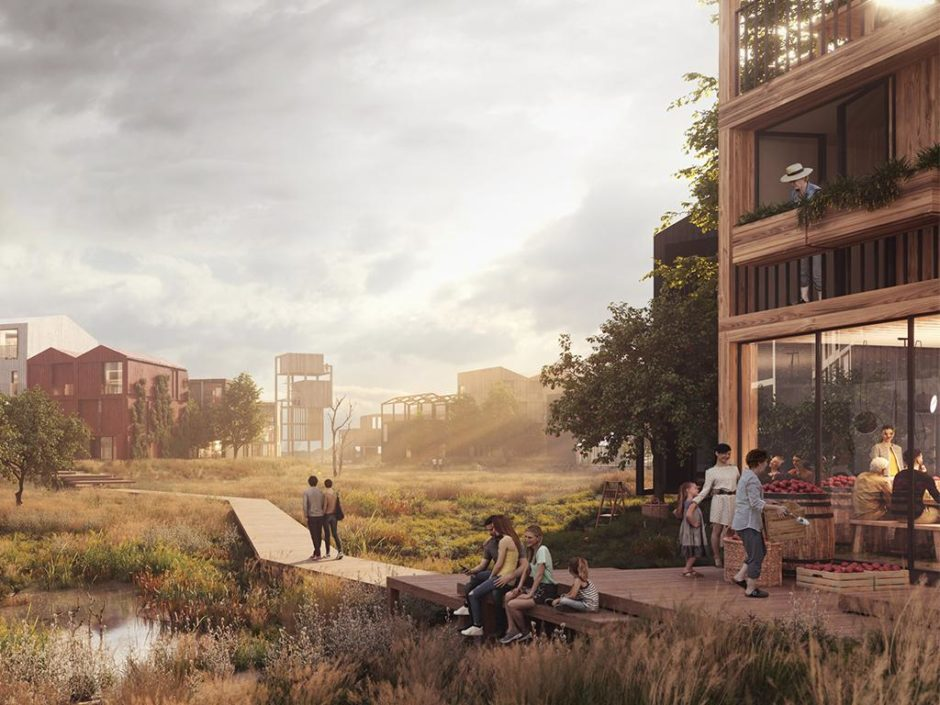 henning larsen timber neighbourhood