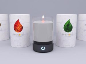 This Candle Can Be Lit Using The Simple Touch Of a Mobile Phone