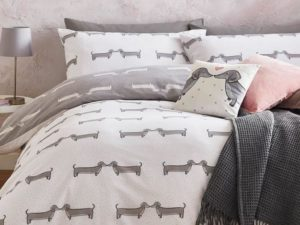 asda sausage dog linen