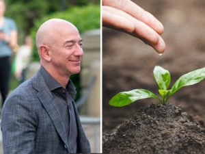 Amazon Boss Jeff Bezos Announces a Huge Financial Pledge to Fight Climate Change