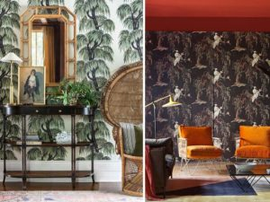 nature inspired wallpaper ideas