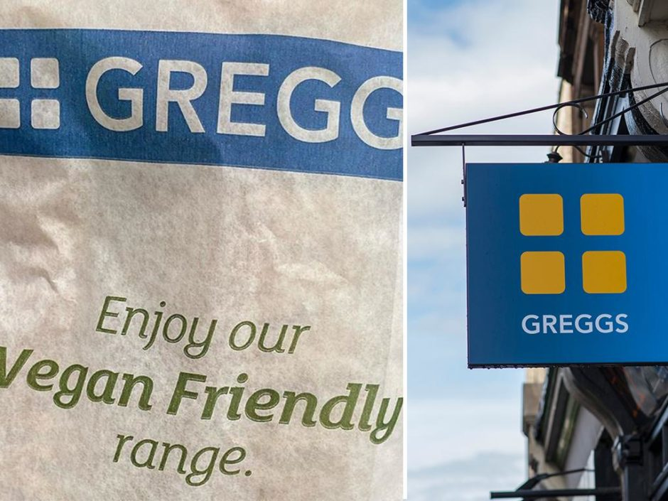 The Greggs Vegan Paper Bags Aim To Help Staff Avoid Dietary Disasters