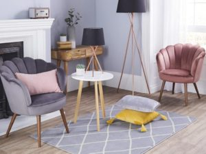 Aldi's New Velvet Armchair Aims To Add 1920's Glamour to Homes in 2020
