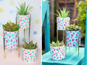 These Funky DIY Plant Displays Are the Perfect Way to Upcycle Everyday Home Items