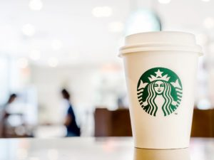 Starbucks Announce They're Set To Test Out a New Sustainable, Bioplastic Takeaway Cup Liner