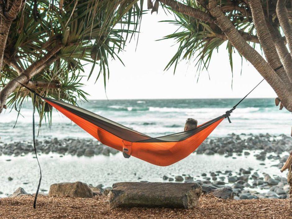 nakie recycled hammock