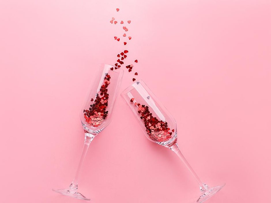 pink prosecco