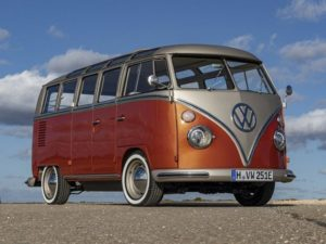 Volkswagen Unveil a Throwback T2 Electric Microbus