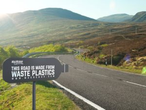 A Company Is Using Recycled Plastic Bottles and Single-Use Plastic Bags To Rebuild Roads