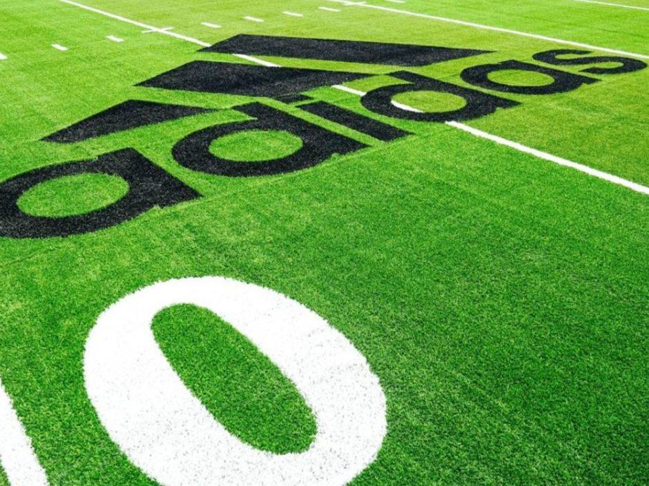 adidas recycled football field