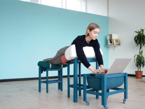 A New Furniture Collection Has Been Designed For the Desk-Shy, Bed-Happy Worker