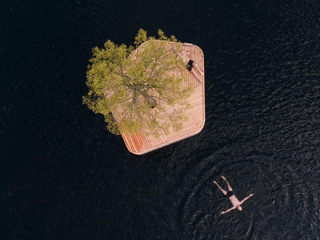Floating Copenhagen Islands