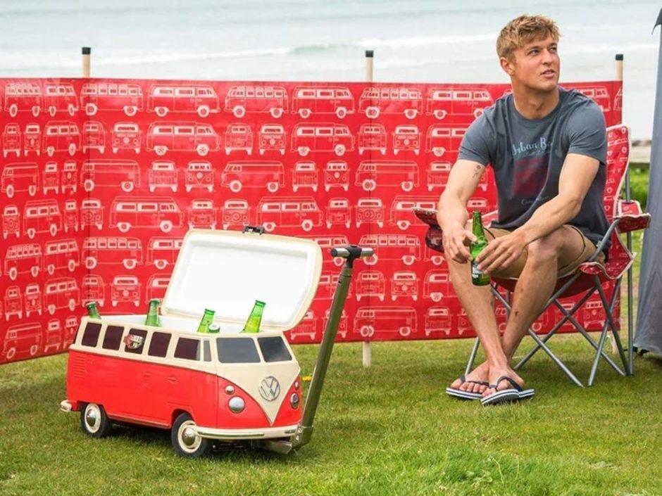 vw camper cool box