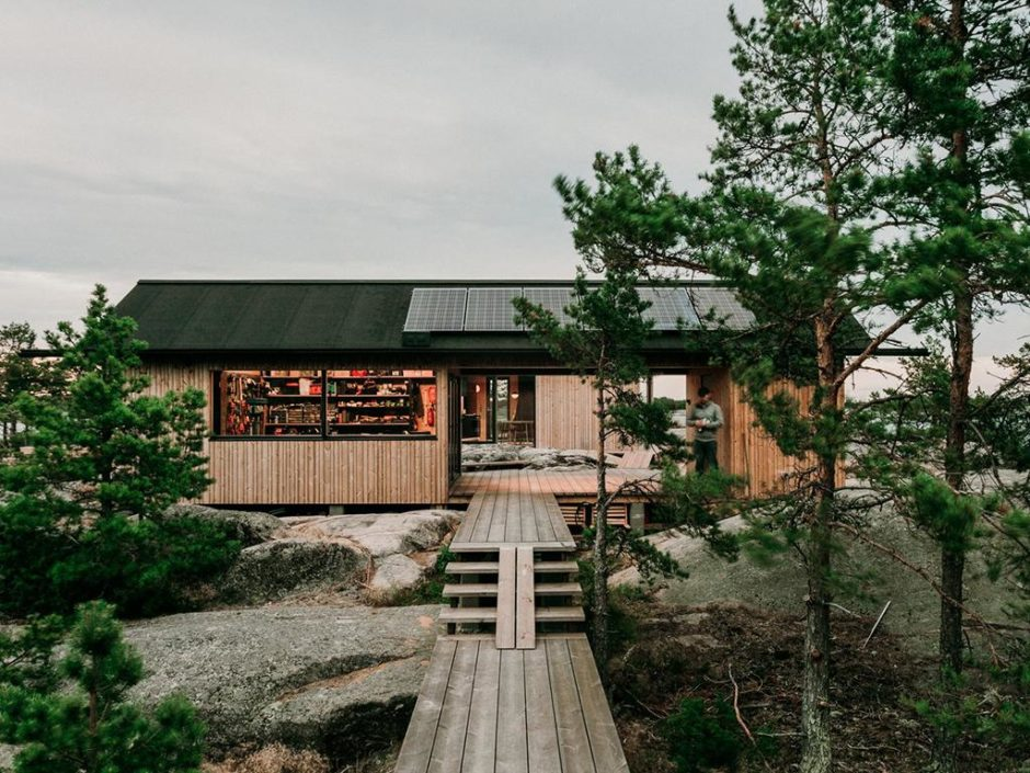 finnish sustainable cabins