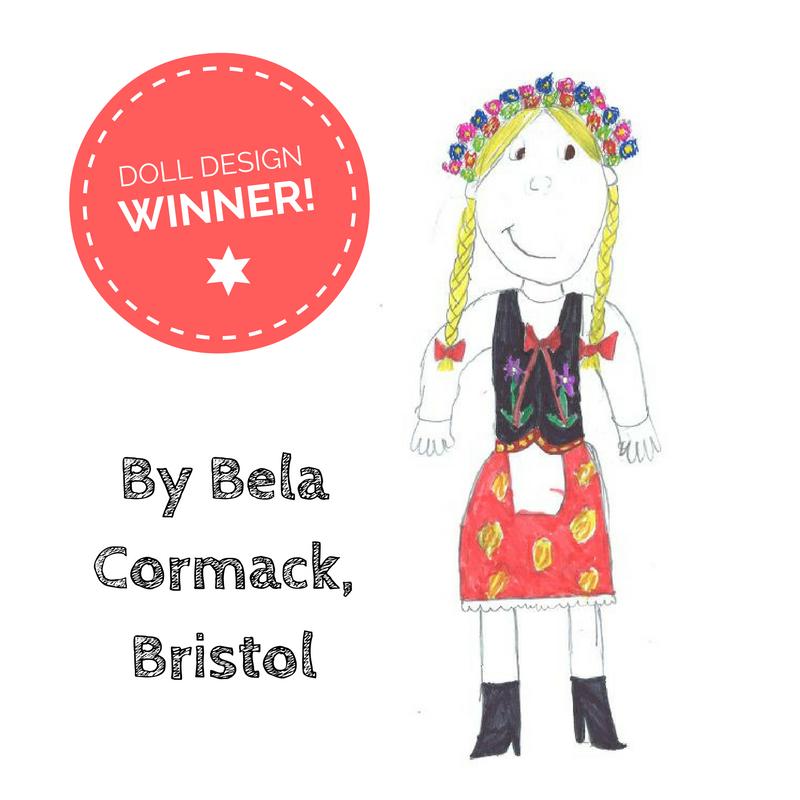 Doll design comp winner
