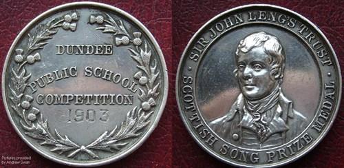 1903 Silver Medal
