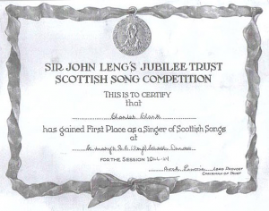 1946-47 session certificate