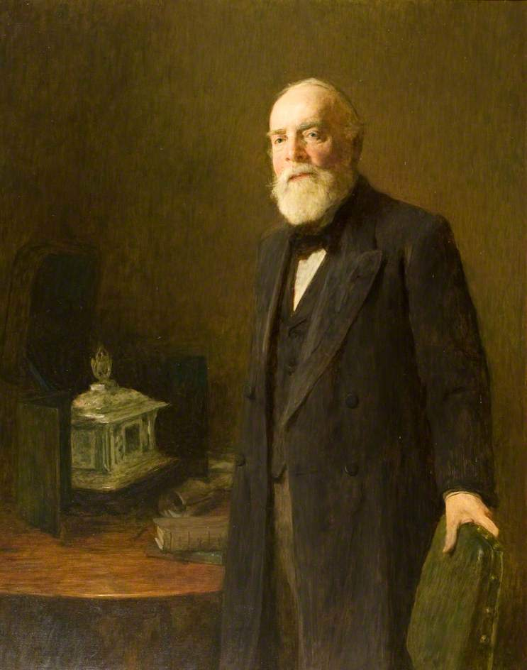 Sir John Leng, by William Quiller Orchardson, 1901