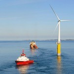 First Minister: Pioneering floating windfarm