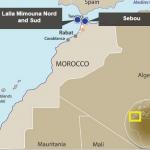 SDX spuds Moroccan development well