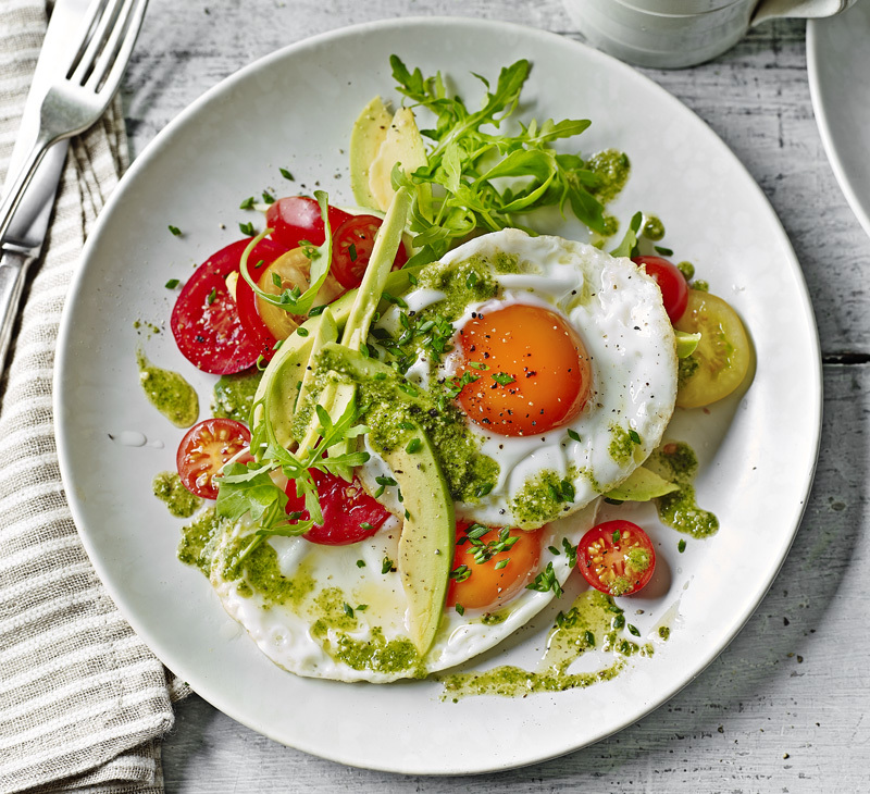 Start your day with a breakfast salad - this recipe from the book is also in the latest issue of My Weekly