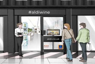 Aldi Wine Pop-up Shop