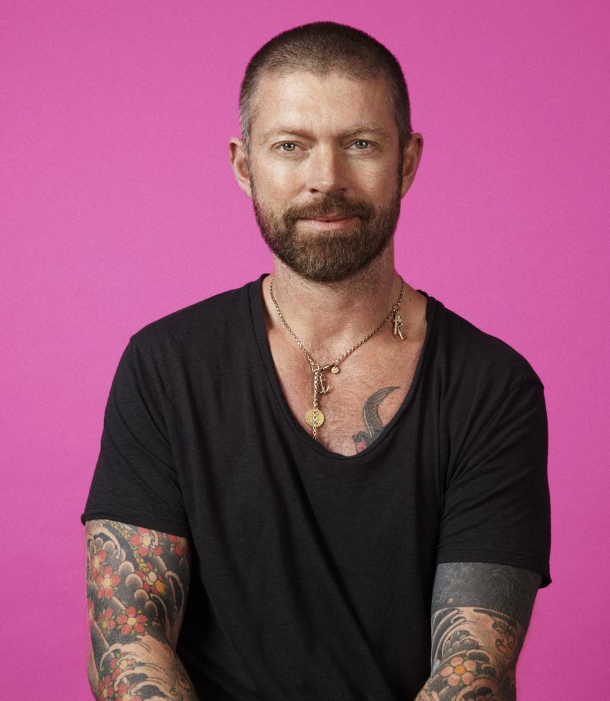 Celebrity hairstylist, Lee Stafford