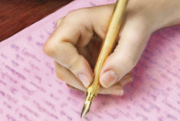 A hand, writing Pic: Thinkstock, Kirk Houston
