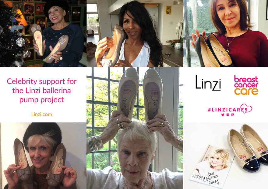 Celeb support for Breast Cancer Care