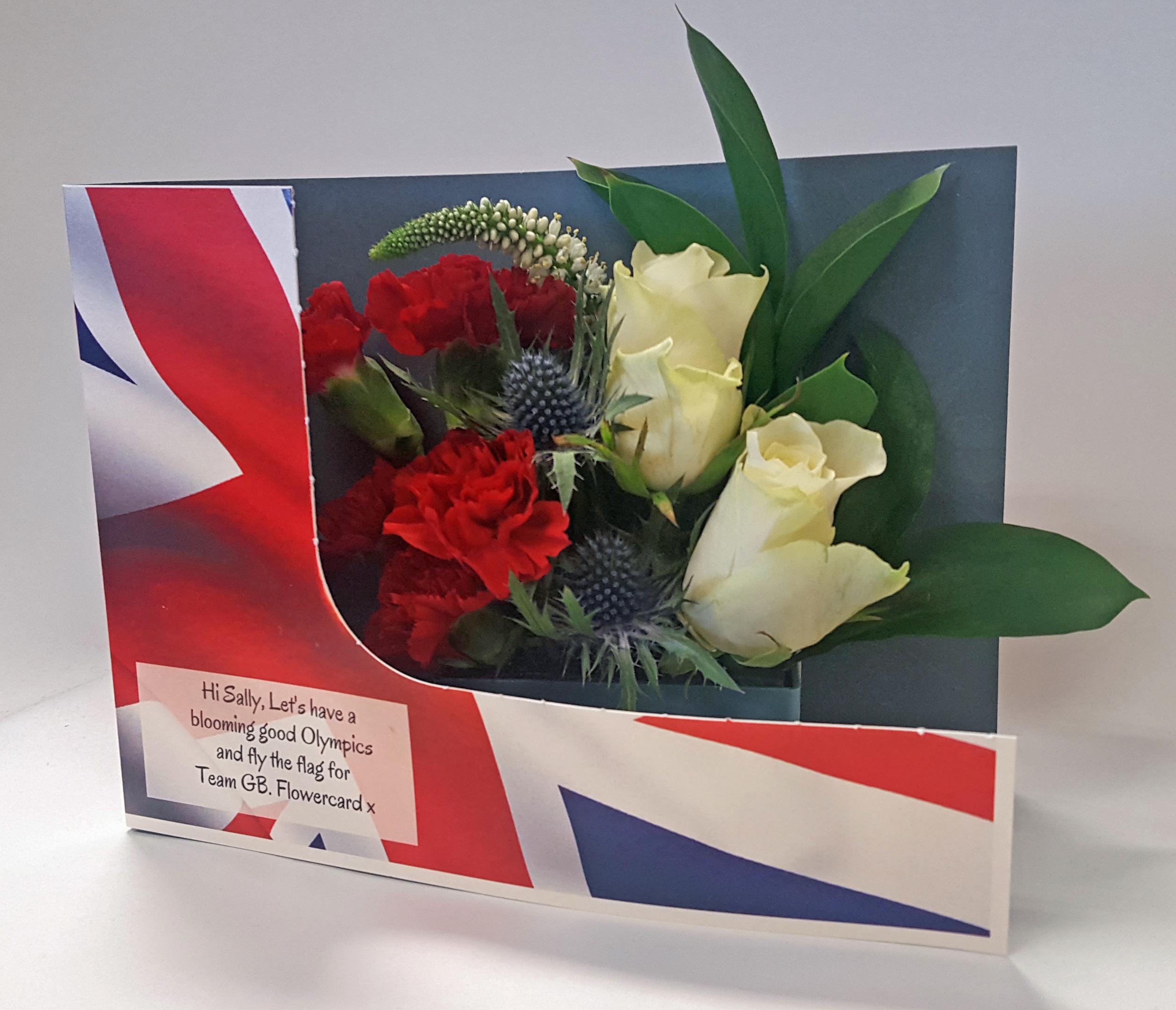 Olympics Flowers