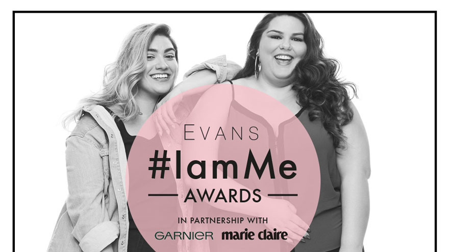 Two ladies modelling for Evans