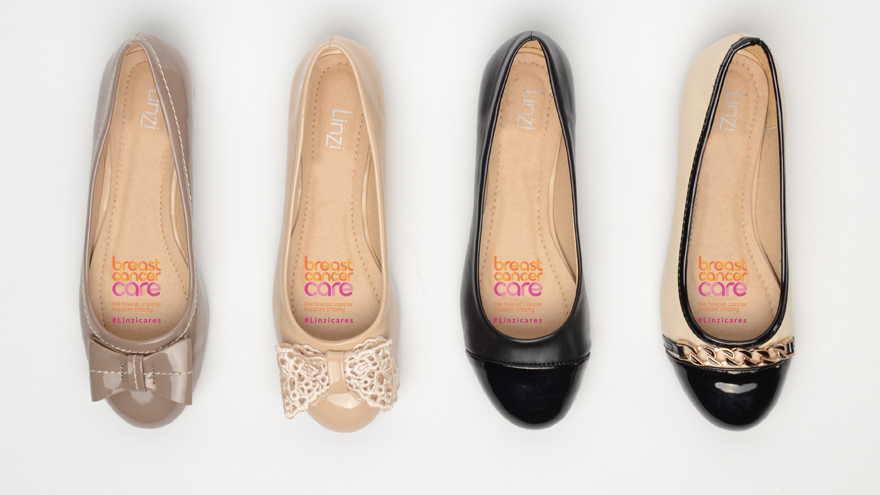 Four ballet pumps