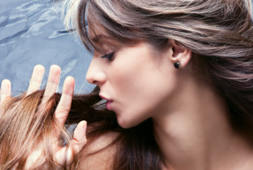 lady with long, luxurious hair Pic: Rex/Shutterstock