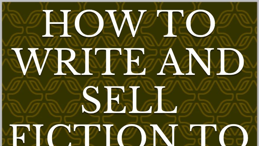 how to write fiction stories cover