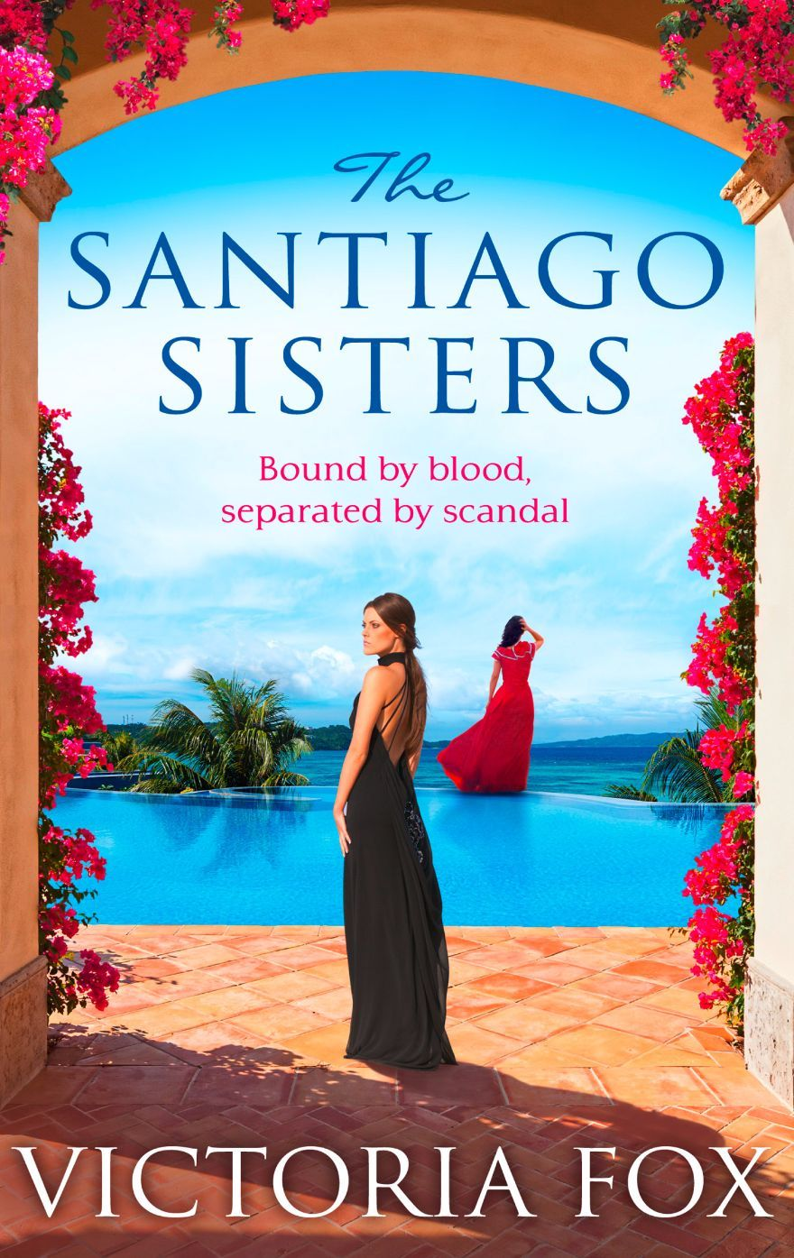 The Santiago Sisters Book Cover Victoria Fox