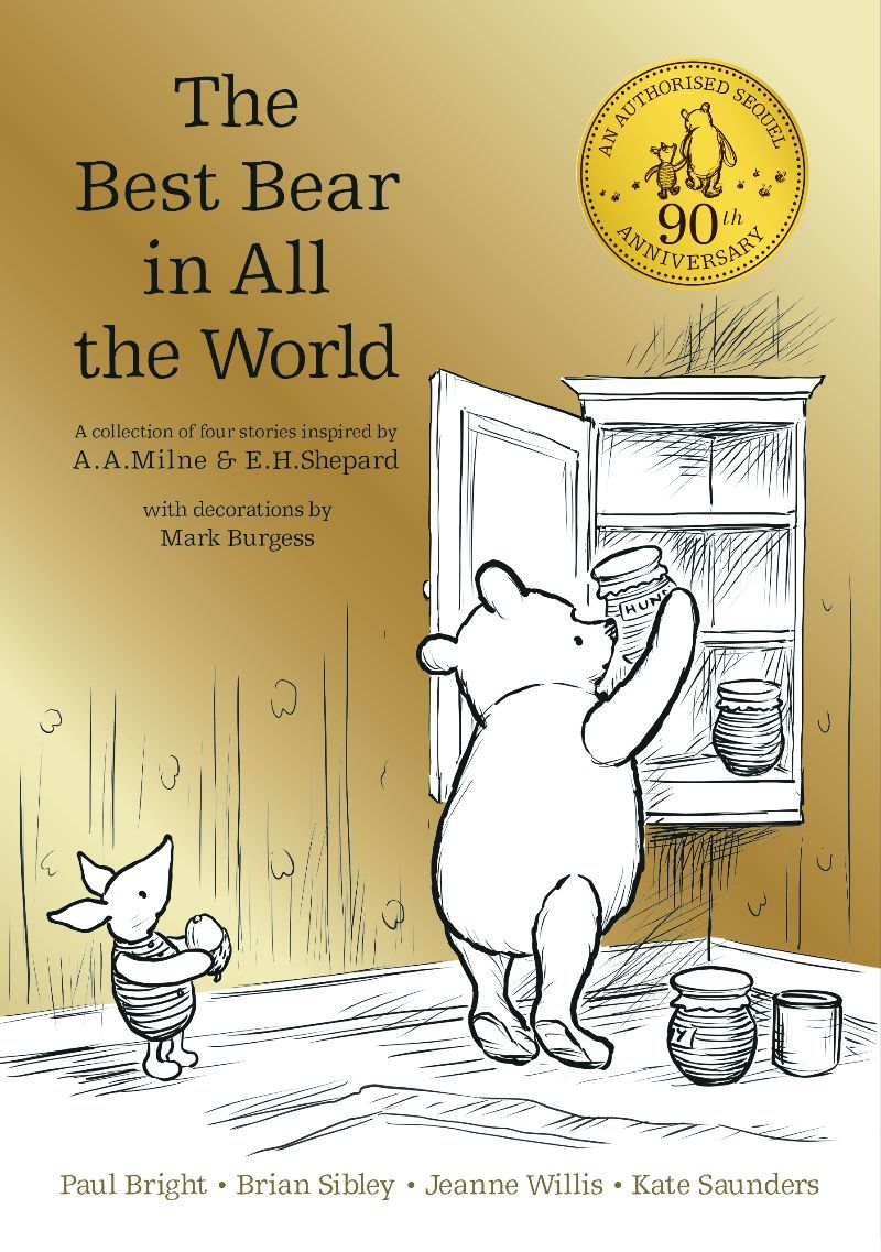 winnie-the-pooh the best bear in all the world book cover