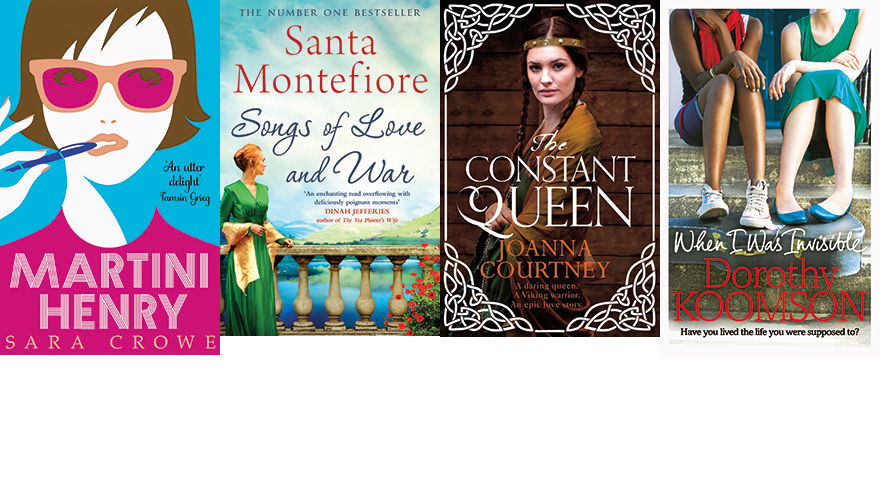 4 romantic book covers