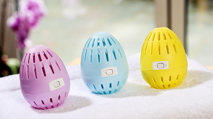 Laundry eggs
