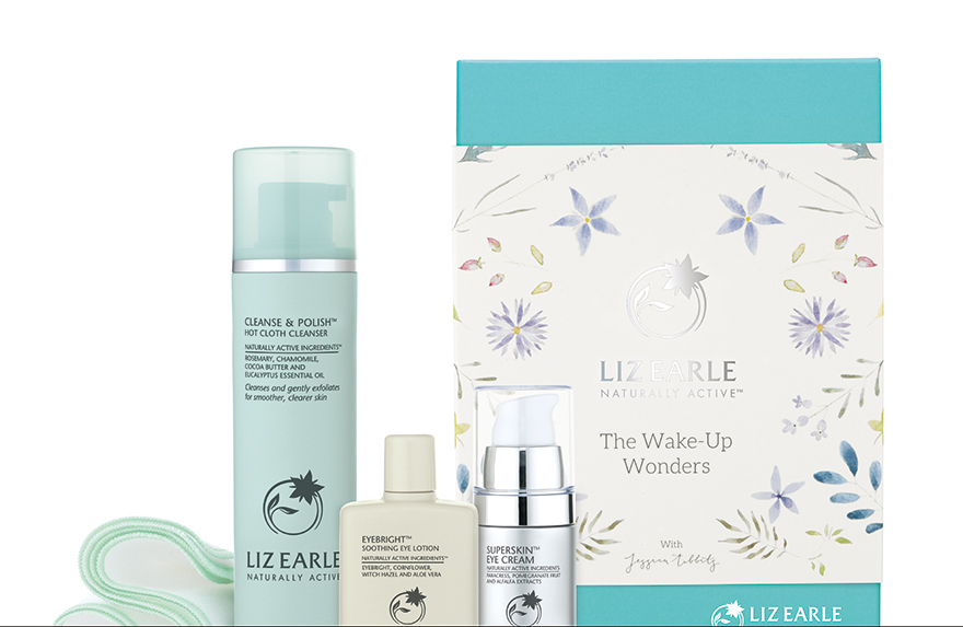 The Wake-Up Wonders Kit from Liz Earle