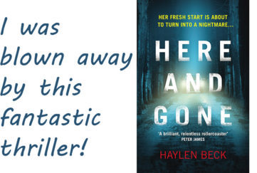 Here and Gone by Haylen Beck book cover
