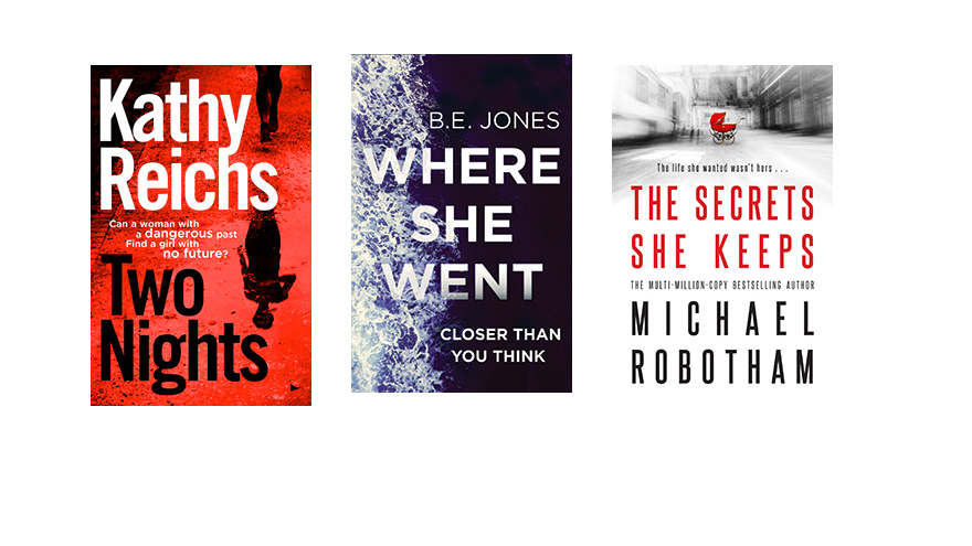 Two Nights Where She Went the Secrets She Keeps book covers