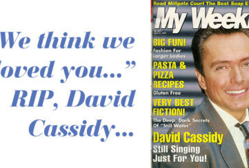 David Cassidy pictured in 2002