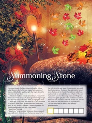 Summoning Stone puzzle